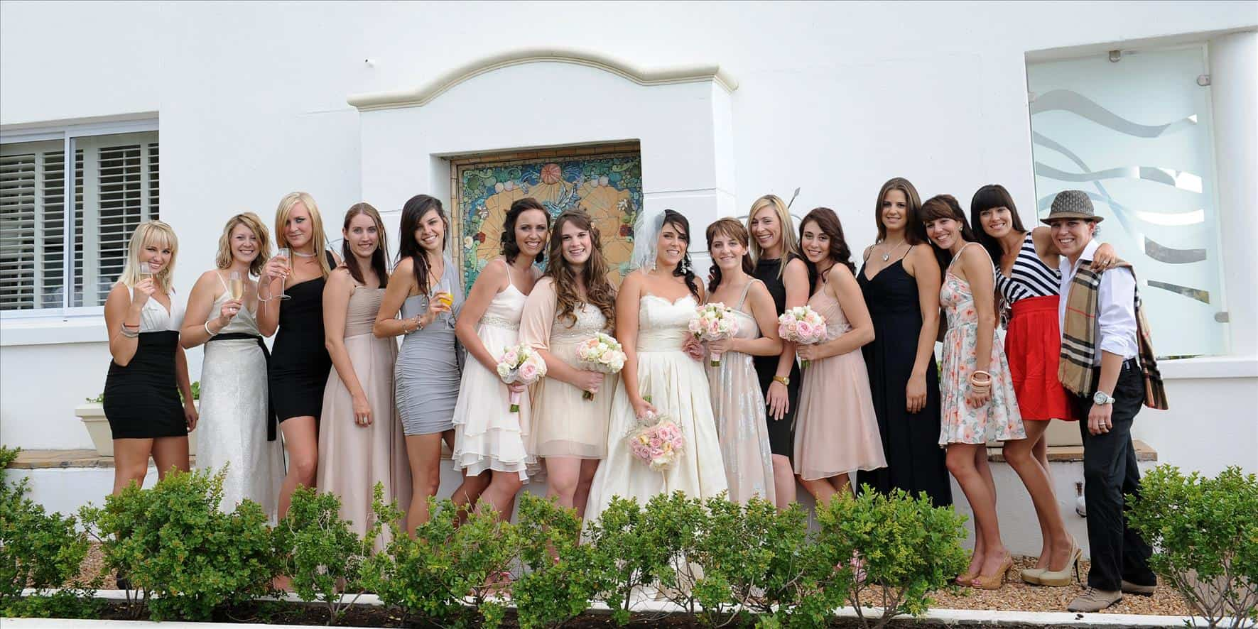 bride females group