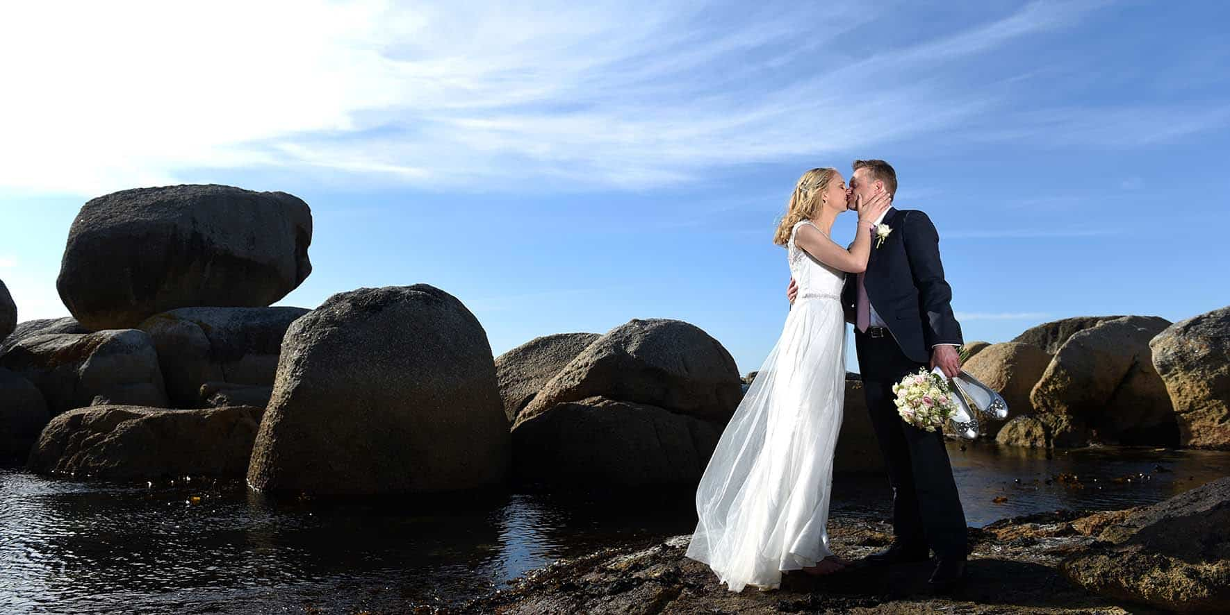 sea side wedding